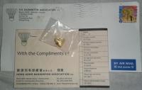 Значки от Ассоциации бадминтона Гонконга