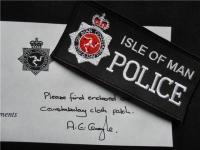 Нашивка от полиции Icle of Man