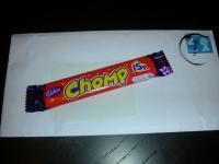 Бесплатная шоколадка Chomp