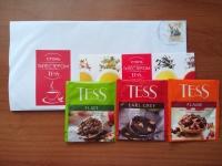 Пробники чая Tess